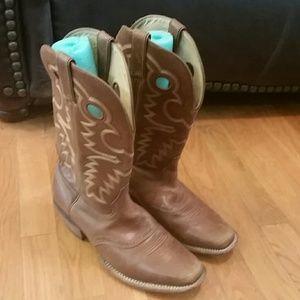 Women's Rocky Cowboy boots 10